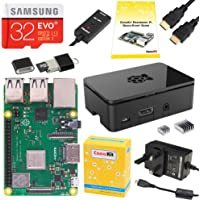 CanaKit Raspberry Pi 3 B+ (B Plus) Complete Starter Kit - UK Edition (32 GB Samsung EVO+)
