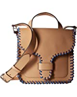 Rebecca Minkoff Womens Midnighter Top-Handle Feed Bag