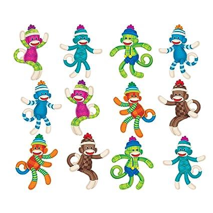 Amazon TREND Enterprises Inc Sock Monkeys Patterns Mini Unique Sock Monkey Pattern