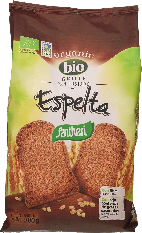 Santiveri Pan Grille Espelta Bio 300G - 200 g: Amazon.es ...