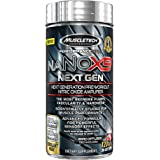 MuscleTech NaNOX9, Next Generation Pre Workout, Nitric Oxide Amplifier, 120 Caplets, 30 Day Supply