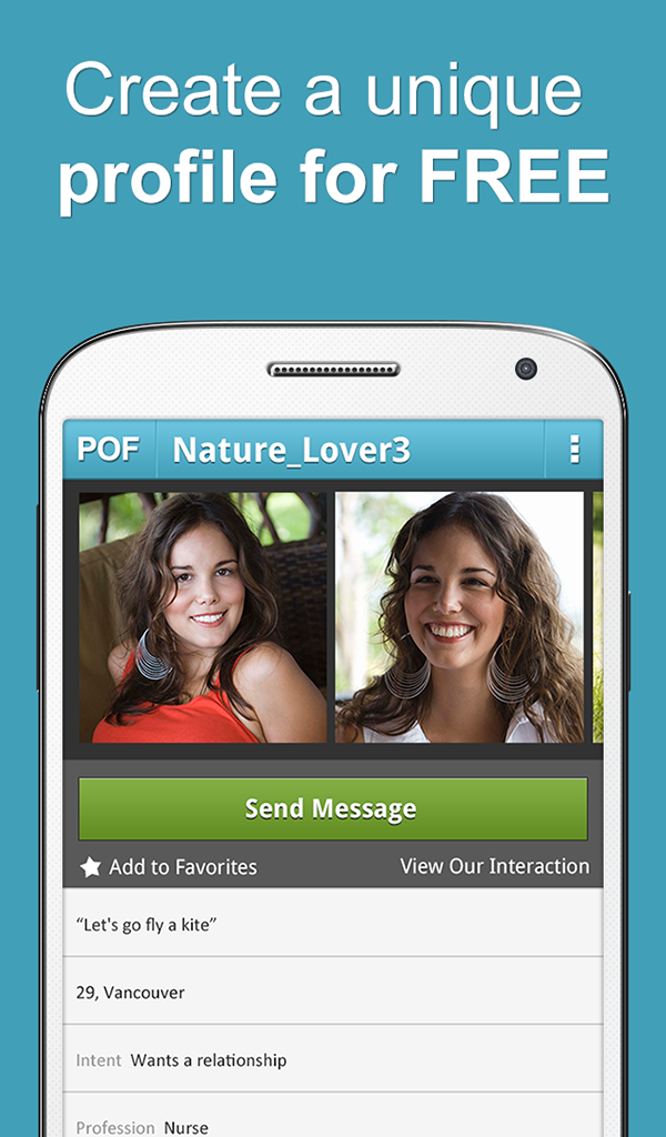 Pof dating blackberry app