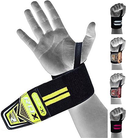 RDX Neoprene Wrist Support Gym Weight Lifting Strap Hand Thumb Brace Wrap CA