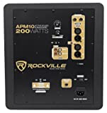 "Rockville Apm10b 10"" 400W Powered/Active Studio"