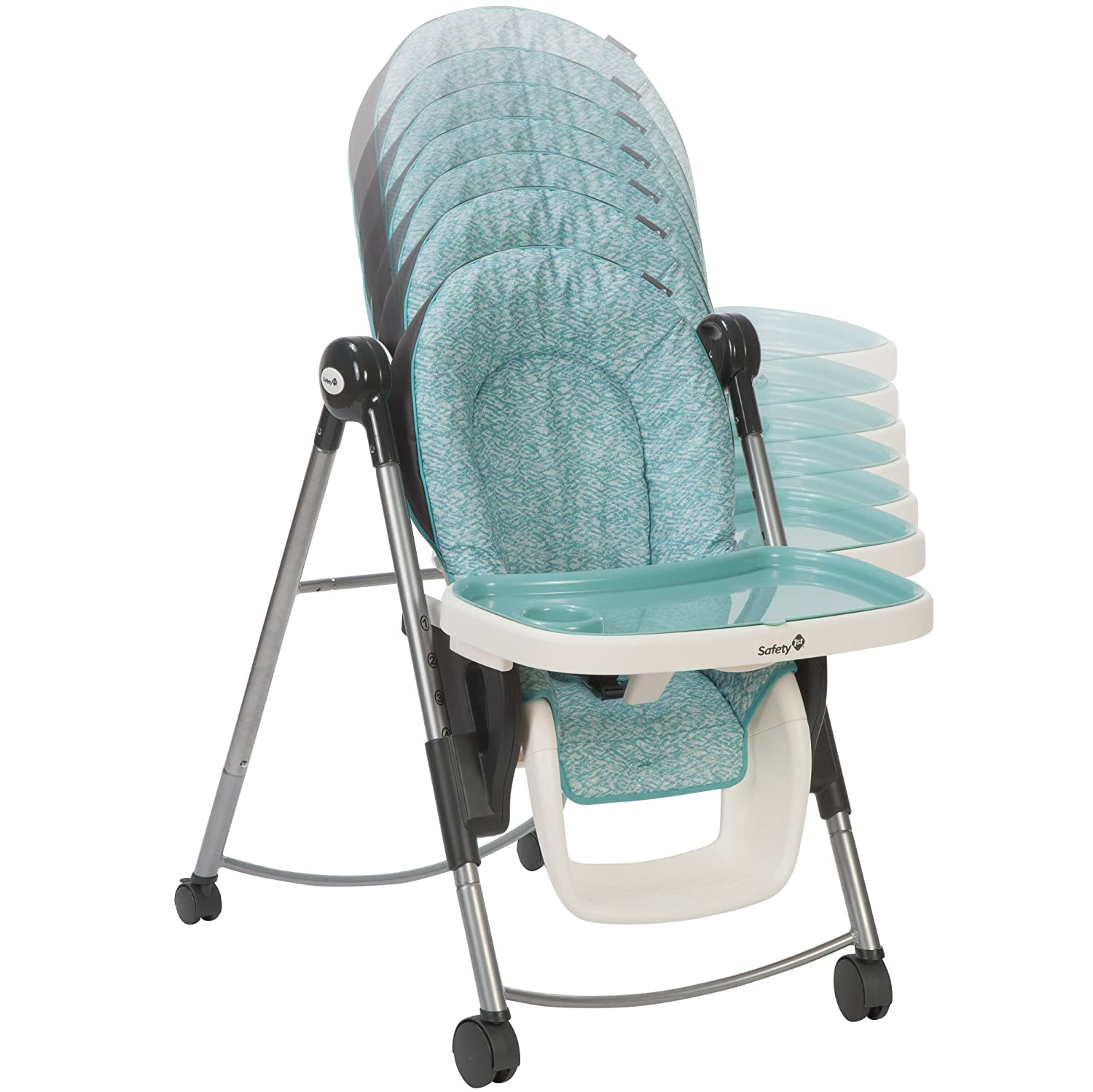 Amazon.com: Safety 1st Silla alta adaptable, Sorbet: Baby