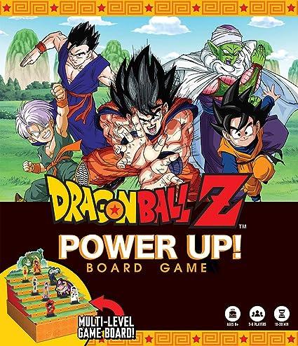 e7d514601d840 Amazon.com  Dragon Ball Z Power Up Board Game