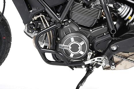 schwarz f/ür Ducati Scrambler 1100 ab 2018 Hepco/&Becker Motorschutzb/ügel
