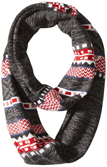 dd365840d6e Smartwool Dazzling Wonderland Infinity Scarf (Charcoal Heather) One Size
