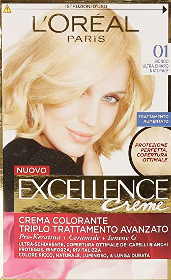 Conosciuto L'Oréal Paris Excellence Crema Colorante Triplo Trattamento  MU23