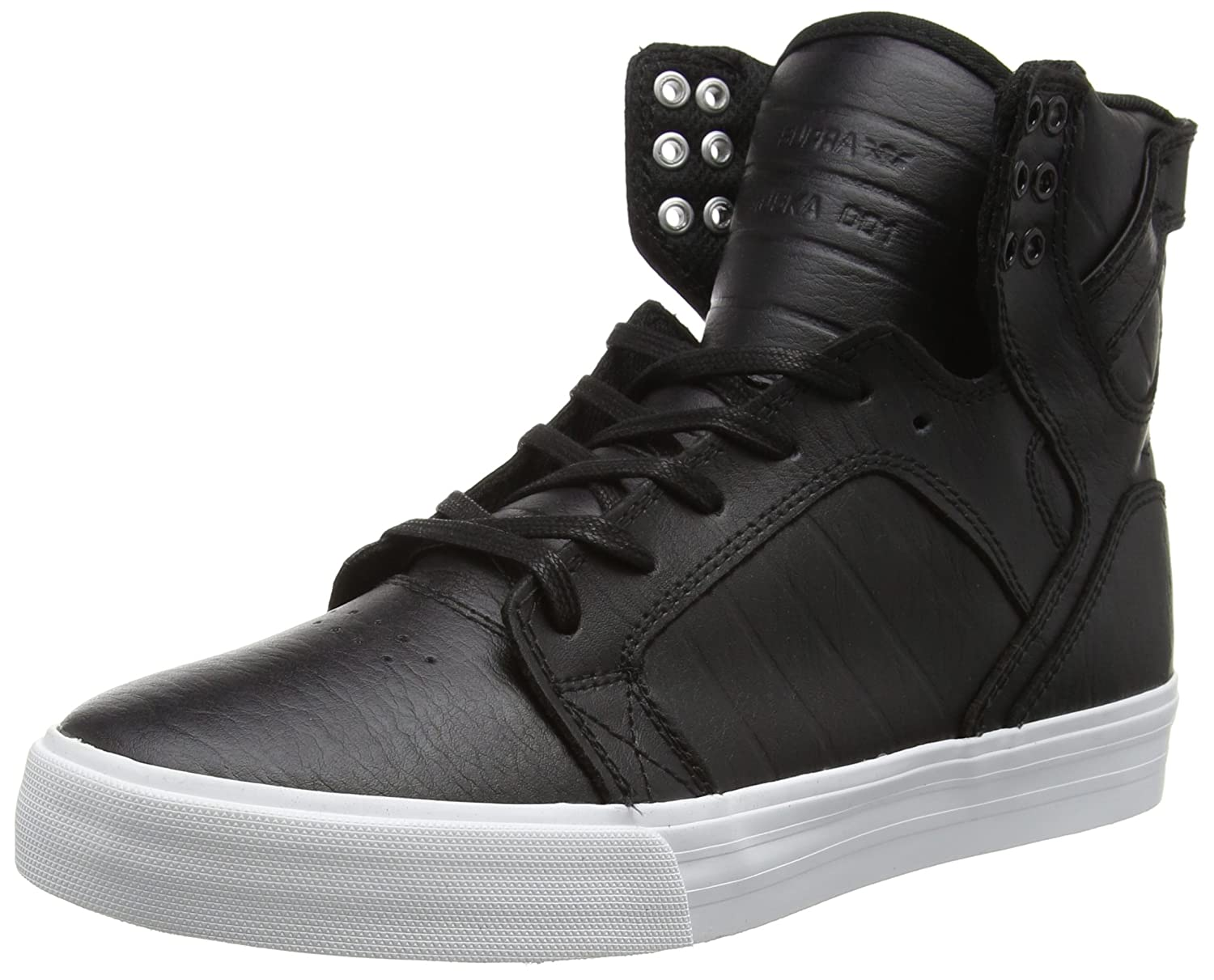 Supra Skytop Skate Shoe B016OF2V24 15 M US|Black/White