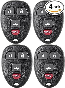 Fits 2006 2007 Chevrolet Monte Carlo Keyless Entry Remote 15912859
