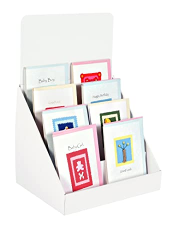 StandStore 400Inch 40 Tier Cardboard Greeting Card Display Stand Awesome Book Display Stand Uk