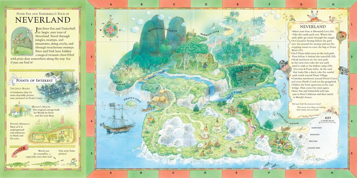 Amazon the once upon a time map book take a tour of six amazon the once upon a time map book take a tour of six enchanted lands 9780763626822 bg hennessy peter joyce books gumiabroncs Gallery