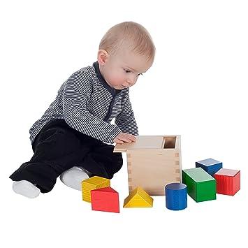 Sonstige SINA 20003 Erstes Holzbaukästchen Holzspielzeug