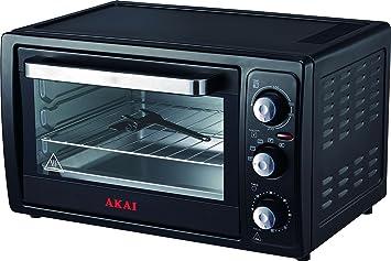 Akai AKFE23 horno tostador 23 L Negro Parrilla 1300 W ...