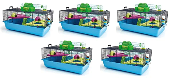 Lixit Animal Care Savic Hamster Heaven Metro Cage (5-Pack) (Tamaño: 5-Pack)