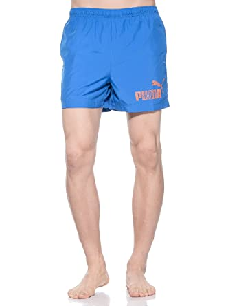 913bc44e70 Puma Short Sport Lifestyle Graphic ESS Bleu - Homme: Amazon.fr ...
