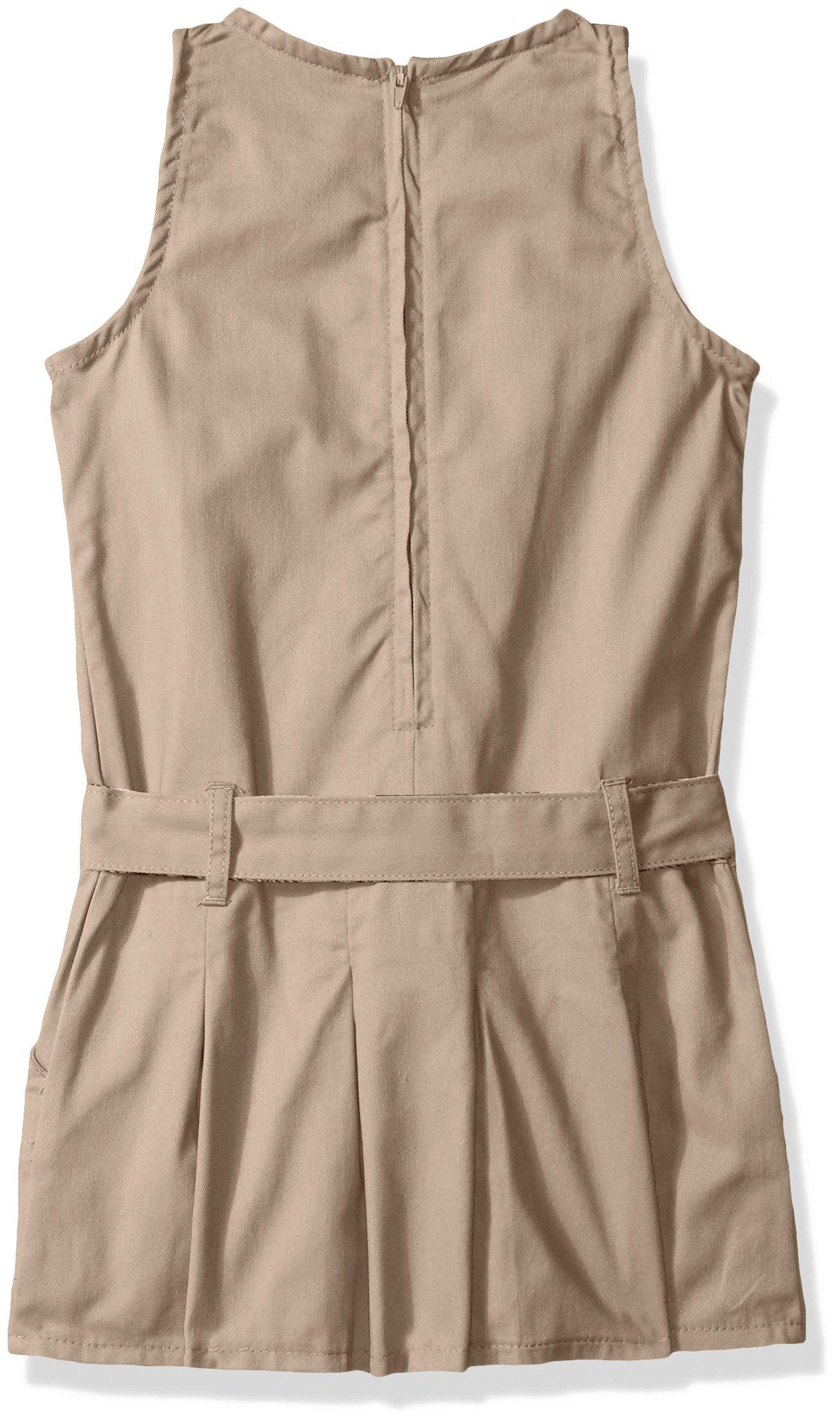 Eddie Bauer Girls' Dress Jumper (More Styles Available), Warm Khaki, 10 by Eddie Bauer (Image #2)