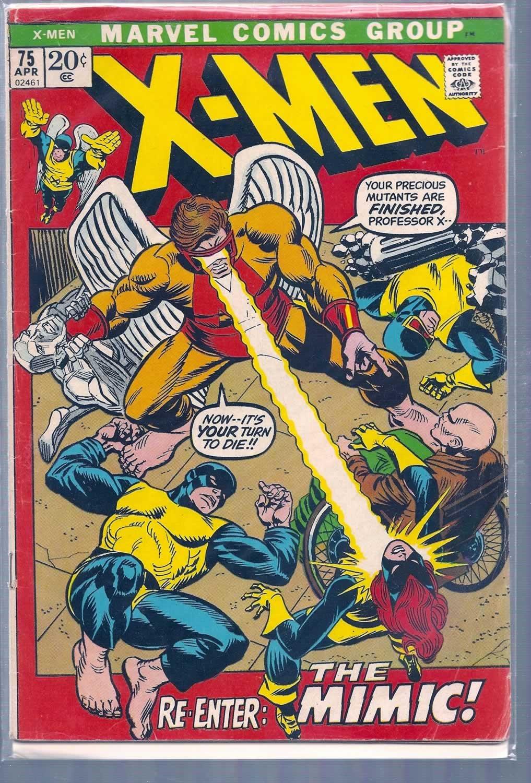 X-Men # 75, 2.5 GD +: Amazon.com: Books
