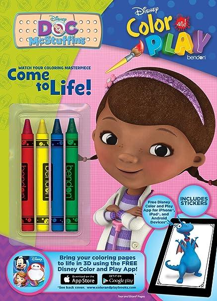 Bendon Disney Doc McStuffins Color And Play 32 Page Activity Book