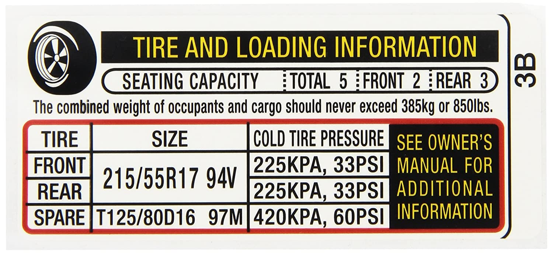 Honda A12 Service >> Amazon Com Genuine Honda 42762 T2a A12 Specification Usa