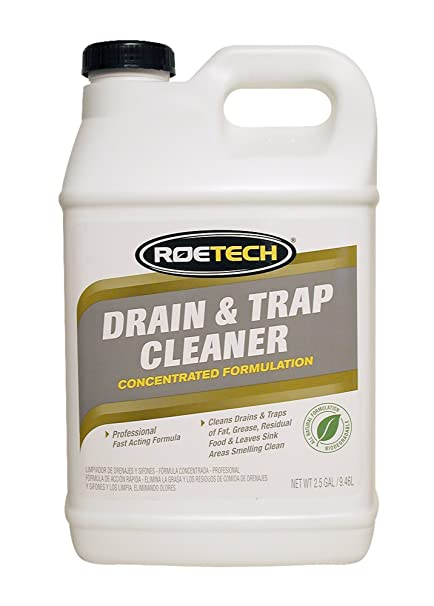Amazon.com: Roetech DTC-LC-2.5-1 Liquid Drain and Trap Cleaner, 2.5 ...