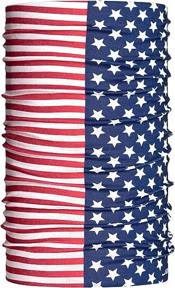 HeadLOOP - Pañuelo multifunción con diferentes banderas, color Estados Unidos 3., tamaño talla única: Amazon.es: Deportes y aire libre