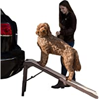 Pet Gear Free Standing Ramp for Cats and Dogs. Great for SUV's or use Next to Your Bed. 4…