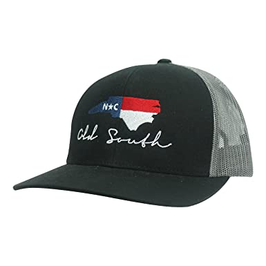 0028bf4e7d5d3c Old South Apparel NC - Trucker Hat Black at Amazon Men's Clothing store: