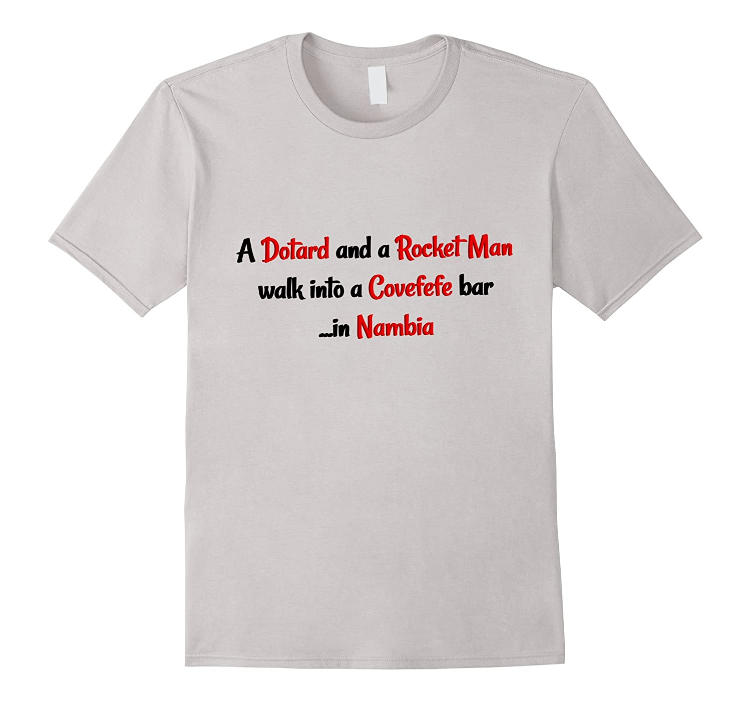 Dotard and Rocket Man T-Shirt-TJ