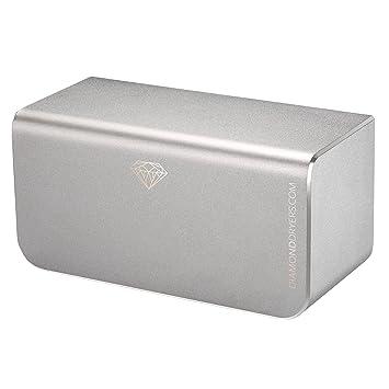Diamond secador secador de manos hd-d380 - 7 años de garantía, alta velocidad, motor sin escobillas, eficiente de la energía, elegante: Amazon.es: Hogar