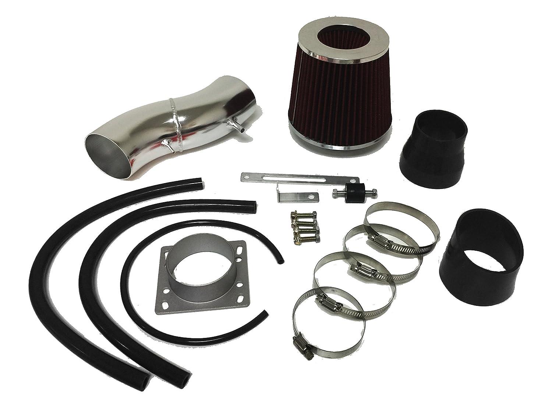 Blue Filter /& Accessories 2pcs Design 2000 2001 2002 Dodge Durango Dakota 4.7L V8 Engine Air Intake Filter Kit System