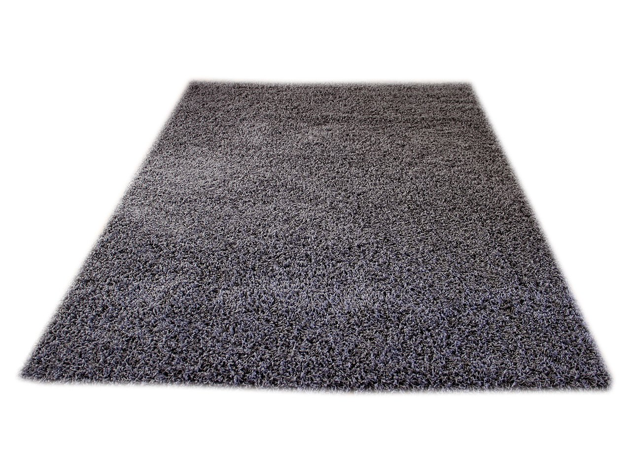 Aloha Hochflor Langflor Shaggy Teppich Anthrazit In Sofort