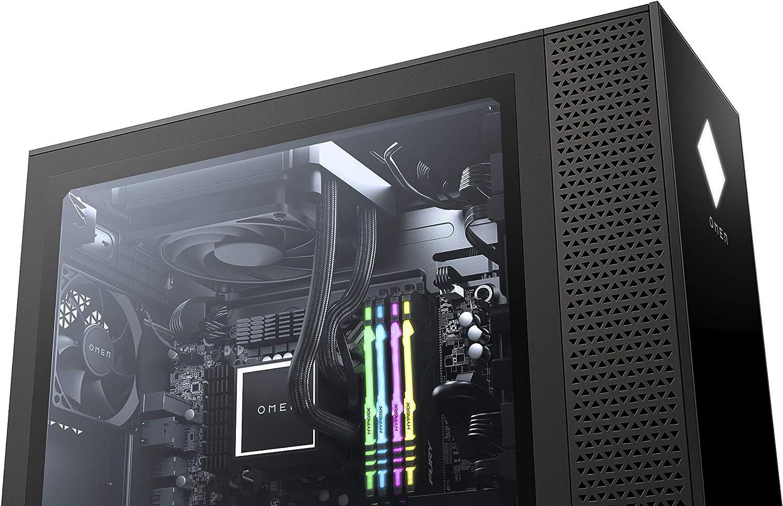 PC HP Omen GT13-0473nf Negro Core i7-10700 32GB DDR4 HyperX XMP RGB HDD 1TB 7200 RPM SSD 1TB RTX 2080 Super WIN10 1T0P4EA#ABF: Amazon.es: Electrónica
