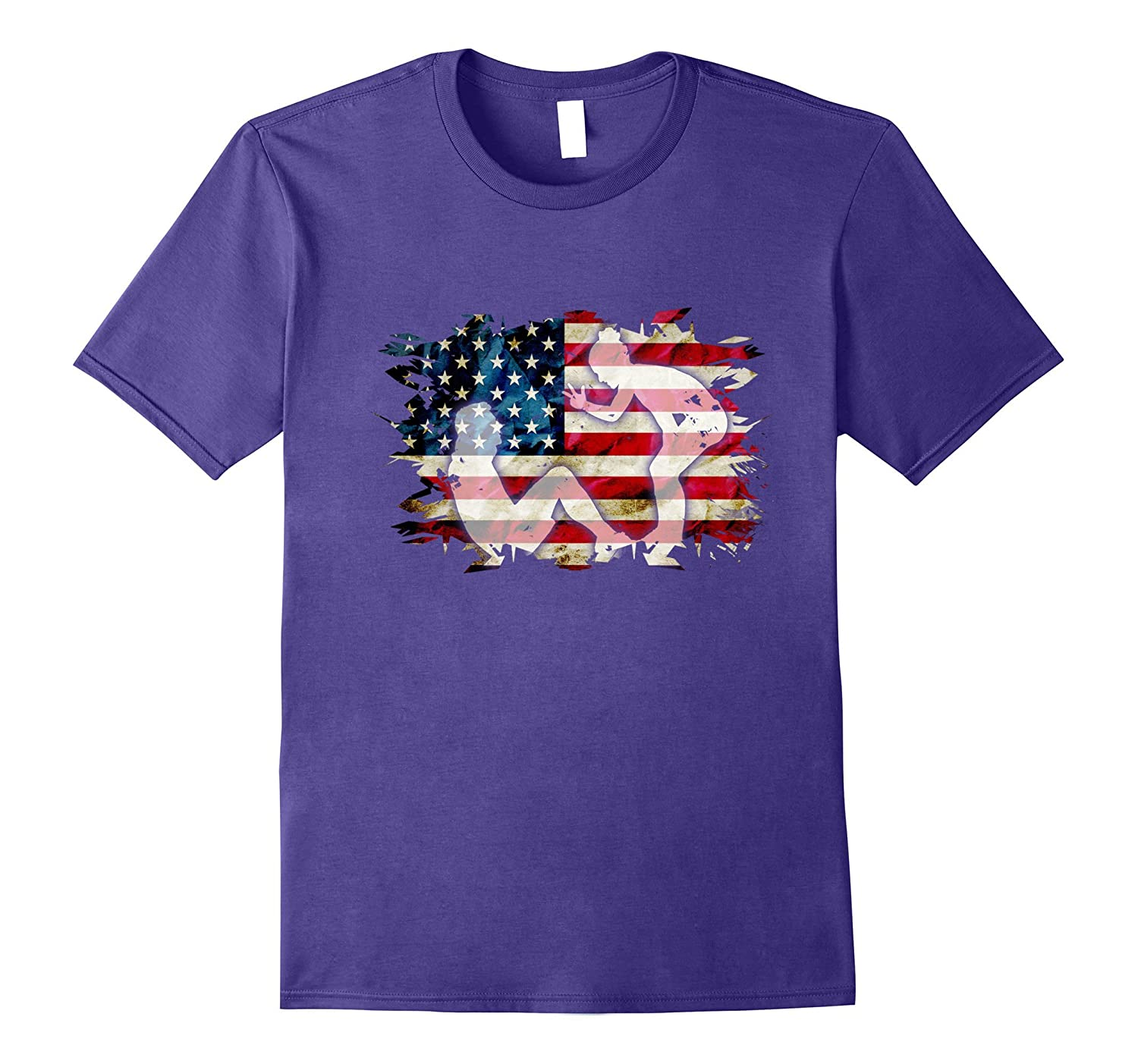 USA Patriotic American Flag US Personal Trainer Gift T-Shirt-PL