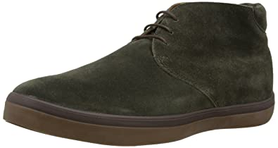 3f9ce8578e5c8c FitFlop Mens Lewis Boot Suede Lace Up Chukka Boot Shoe