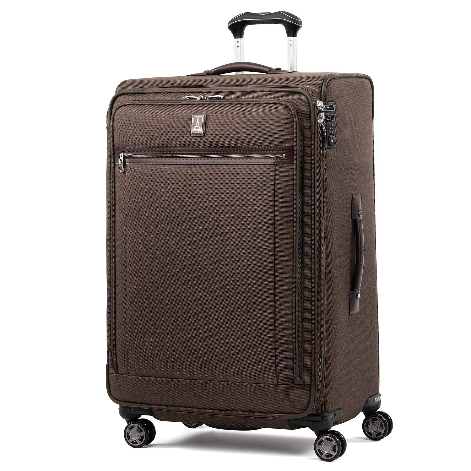Travelpro Platinum Elite Expandable Spinner Suitcase, Rich Espresso