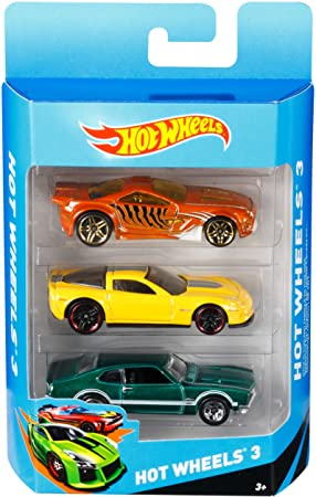 buy mattel hot wheels 3 pack design may vary online at low prices in india amazonin - Voitures Hot Wheels