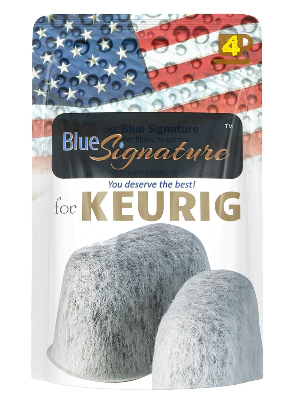 Keurig Filter, Excellent keurig water filter 4 Universal fit -except Cuisinart- keurig coffee filter 2.0 or kurig 1 charcoal filters use to replace Keurig water filter cartridges (4)