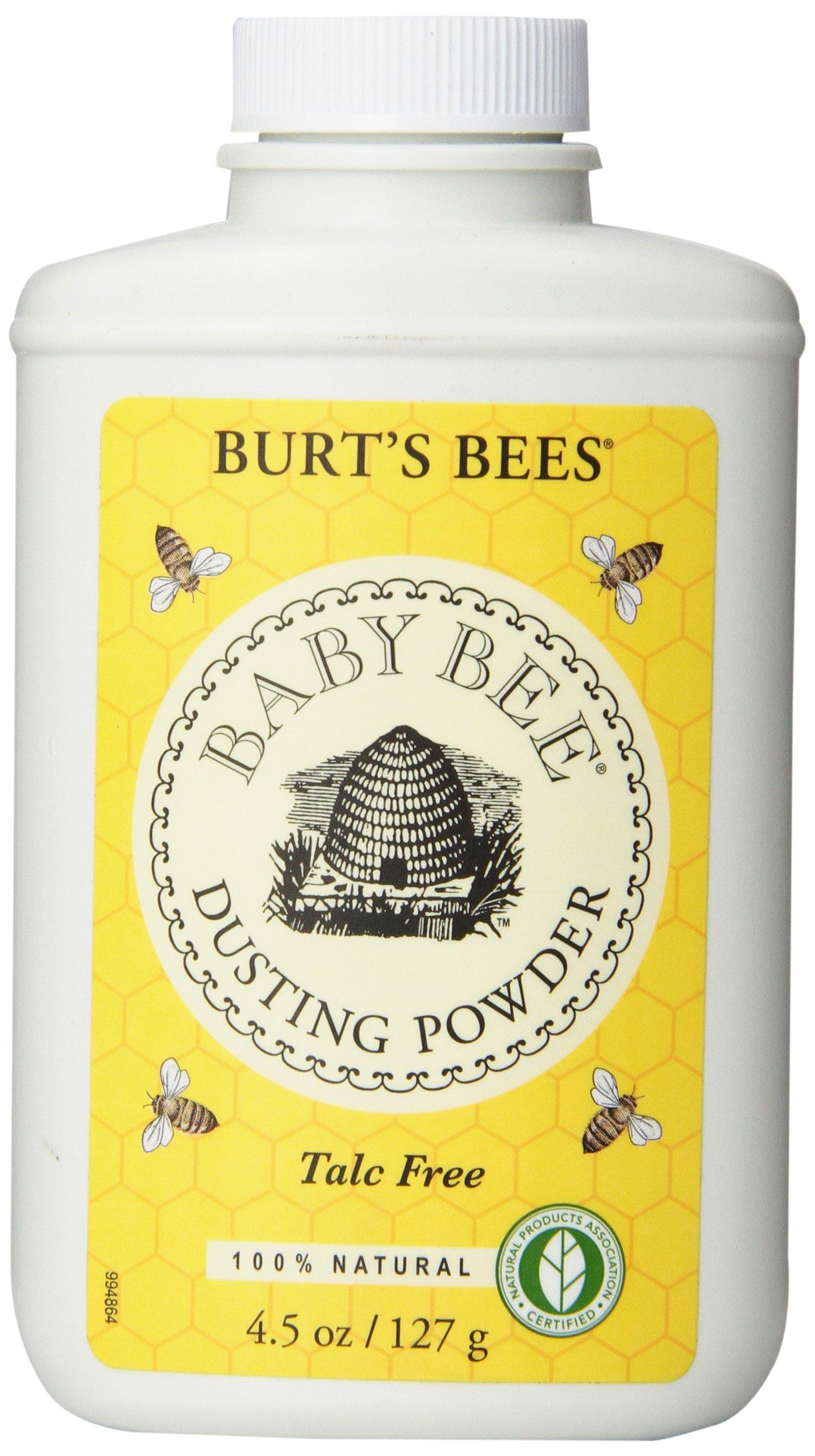 Amazon Com Burt S Bees Baby 100 Natural Dusting Powder Talc Free