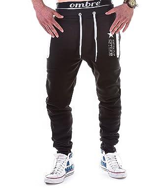 c03cb5fc BetterStylz Switch Mens Casual Joggers Track Pants Jogging Sweatpants Zip  Gym Tracksuit Bottoms Sports Joggers 3