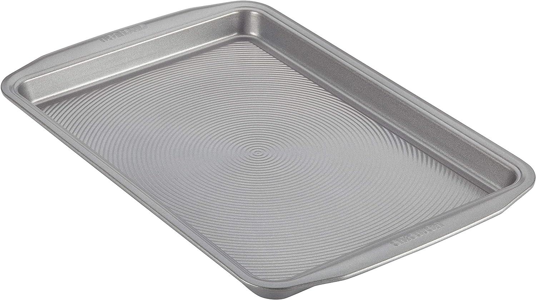 Circulon 47475 Nonstick Bakeware, Nonstick Cookie Sheet / Baking Sheet - 10 Inch x 15 Inch, Gray