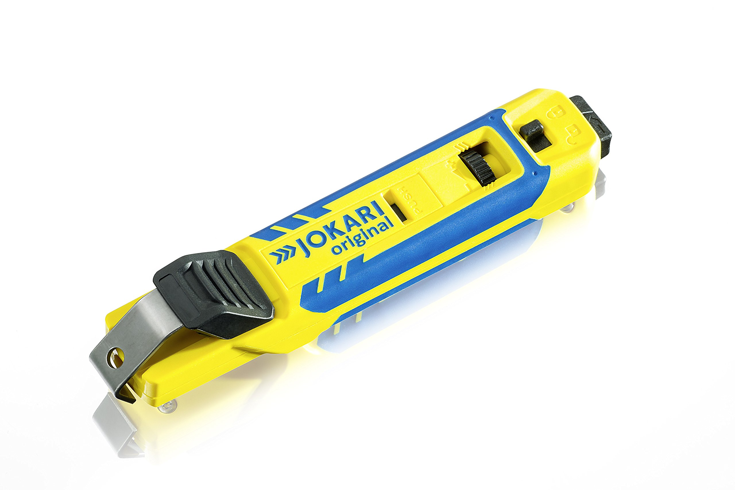 JOKARI 70000 4-70 Cable Knife System for Round Cable Stripping, Yellow