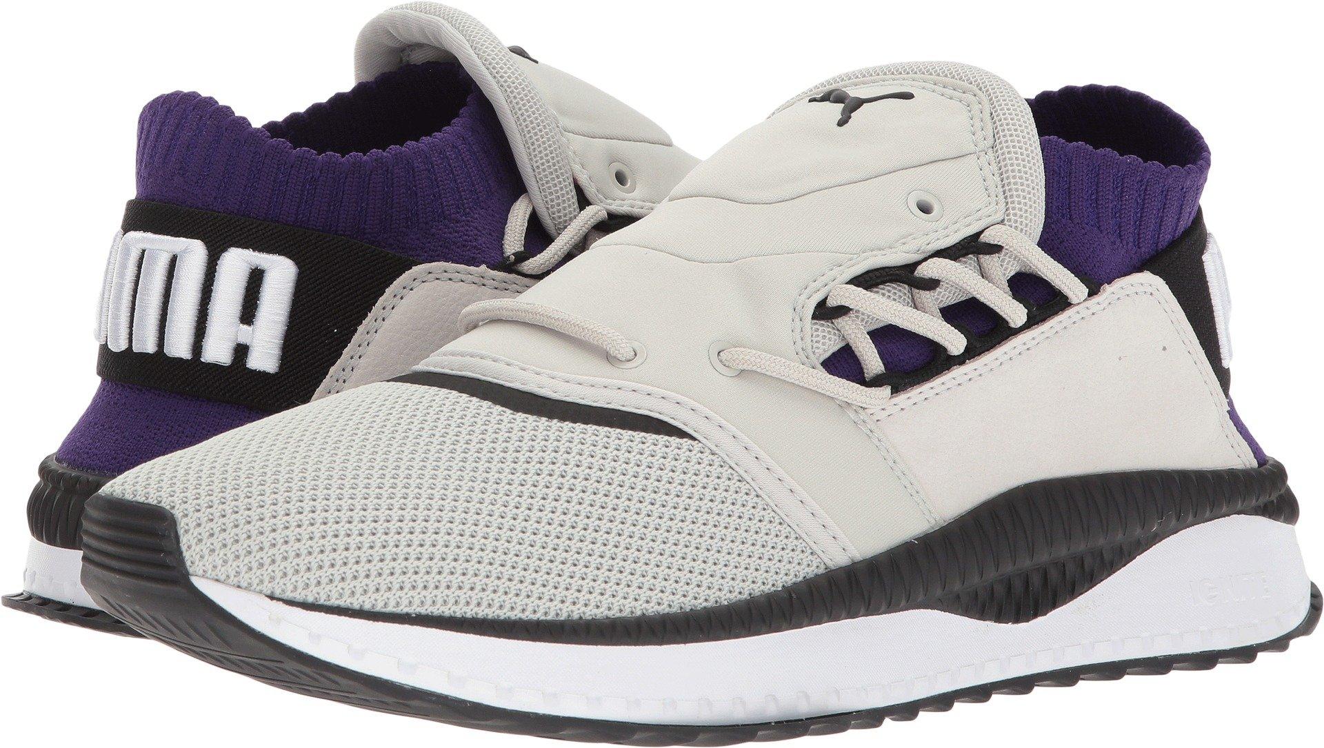 PUMA Select Men's Tsugi Shinsei Dual Sneakers, Grey/Grape/White, 10.5 M US