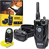 Dogtra 200C Remote Training Collar - 1/2 Mile Range, Waterproof, Rechargeable, Static Correction, Vibration - Includes…