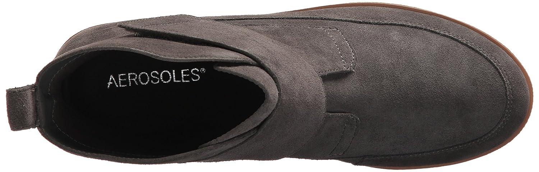 Aerosoles Women's Full Moon Ankle Boot B075694BZC 7.5 B(M) US|Dark Gray Suede