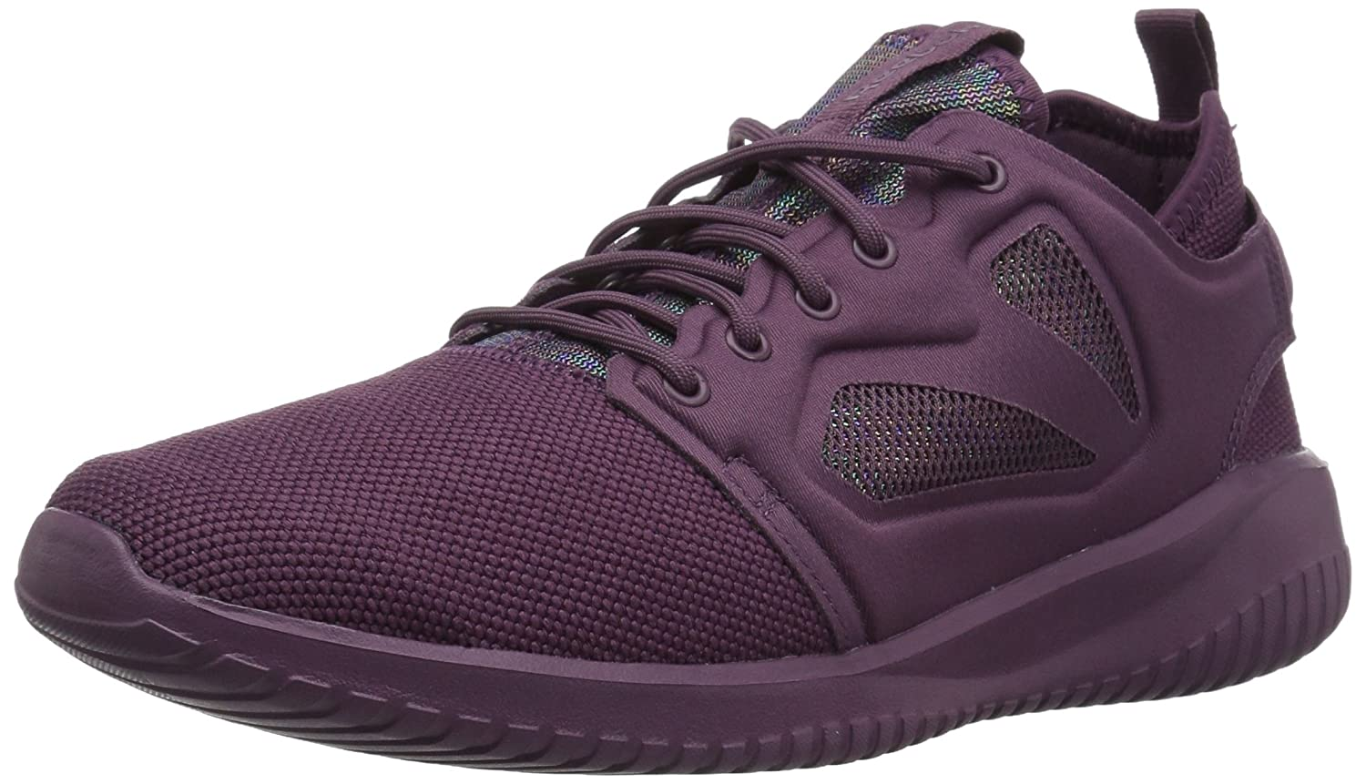 Reebok Women's Skycush Evolution Lux Fashion Sneaker B074WBWRNX 7.5 B(M) US|Washed Plum