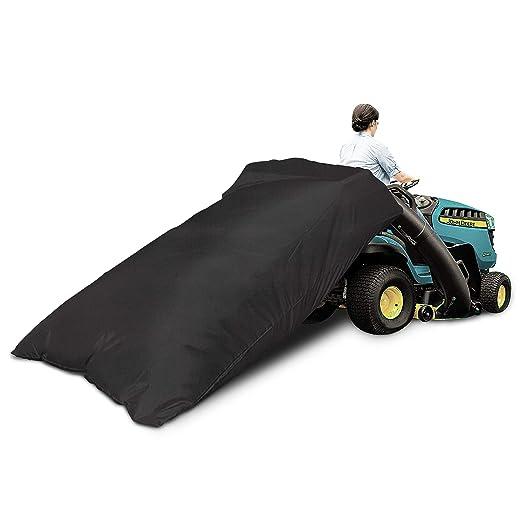 VIBIRIT Bolsa de basura reutilizable para hojas de tractor de ...