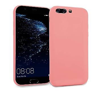 MyGadget Funda Slim para Huawei P10 Plus en Silicona TPU - Anti Rasguños - Carcasa Protectora Ultra Delgada [ 1,2mm ] cómoda - Rosa