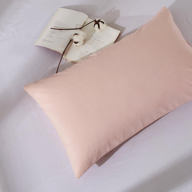 Amazon.com: OAITE Duvet Cover Set, 100% Washed Cotton Duvet Cover ...